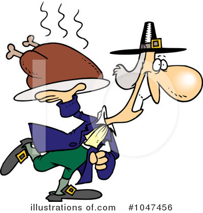Pilgrim Clipart #1047456 by toonaday