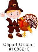 Royalty-Free (RF) Pilgrim Clipart Illustration #1083213