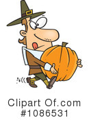 Pilgrim Clipart #1086531 by toonaday