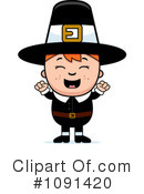 Pilgrim Clipart #1091420 by Cory Thoman