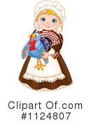 Royalty-Free (RF) Pilgrim Clipart Illustration #1124807