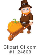 Royalty-Free (RF) Pilgrim Clipart Illustration #1124809