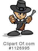 Royalty-Free (RF) Pilgrim Clipart Illustration #1126995