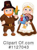 Royalty-Free (RF) Pilgrim Clipart Illustration #1127043