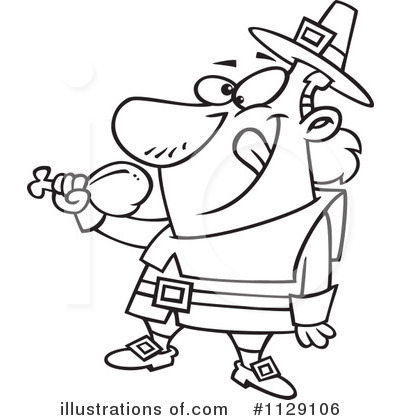 Pilgrim Clipart #1129106 by toonaday