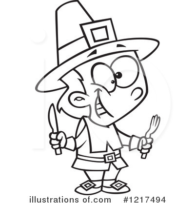 Pilgrim Clipart #1217494 by toonaday