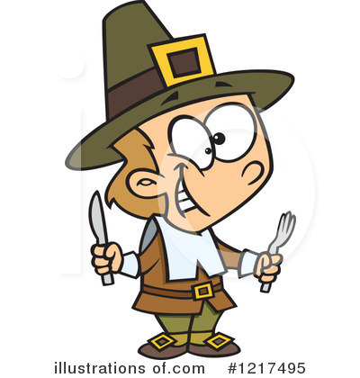 Pilgrim Clipart #1217495 by toonaday