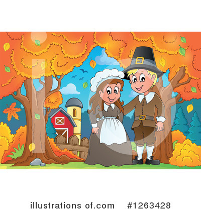 Thanksgiving Clipart #1263428 by visekart