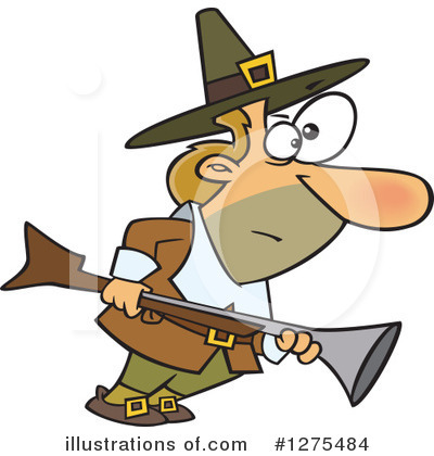 Pilgrim Clipart #1275484 by toonaday