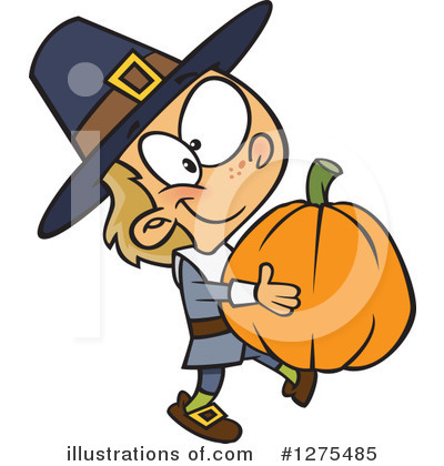 Pilgrim Clipart #1275485 by toonaday