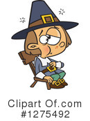 Pilgrim Clipart #1275492 by toonaday