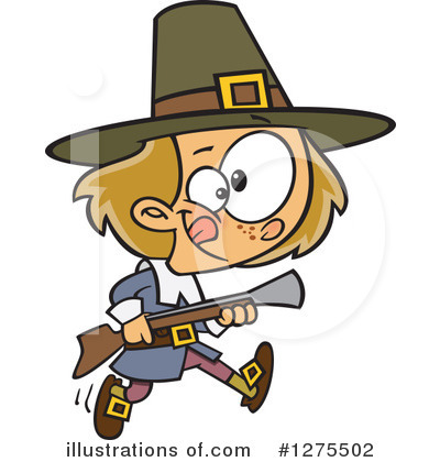 Pilgrim Clipart #1275502 by toonaday