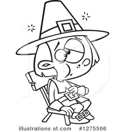 Pilgrim Clipart #1275506 by toonaday