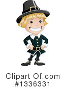 Pilgrim Clipart #1336331 by Liron Peer