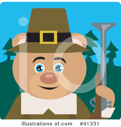 Bear Clipart #41331 by Dennis Holmes Designs