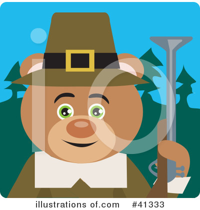 Bear Clipart #41333 by Dennis Holmes Designs