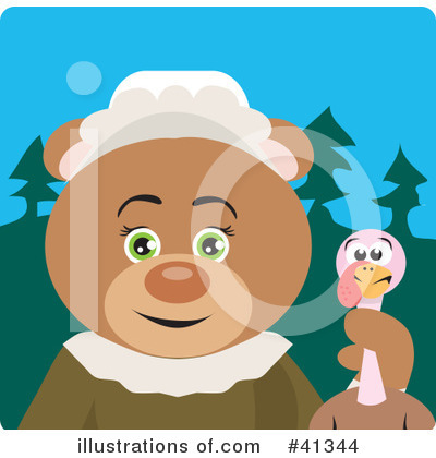 Bear Clipart #41344 by Dennis Holmes Designs