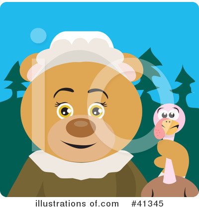 Bear Clipart #41345 by Dennis Holmes Designs