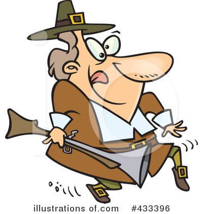 Pilgrim Clipart #433396 by toonaday