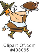 Royalty-Free (RF) Pilgrim Clipart Illustration #438065