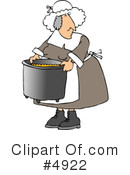 Royalty-Free (RF) Pilgrim Clipart Illustration #4922
