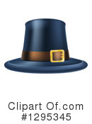 Pilgrim Hat Clipart #1295345 by AtStockIllustration