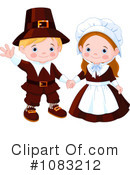 Pilgrims Clipart #1083212 by Pushkin