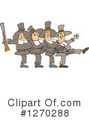 Royalty-Free (RF) Pilgrims Clipart Illustration #1270288