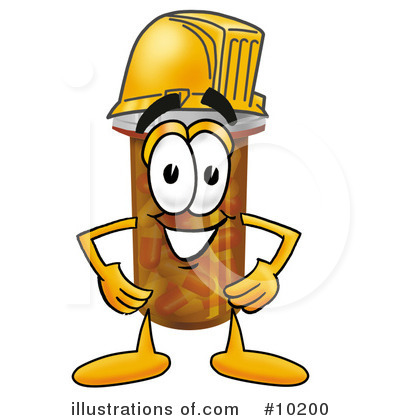 Hard Hat Clipart #10200 by Toons4Biz