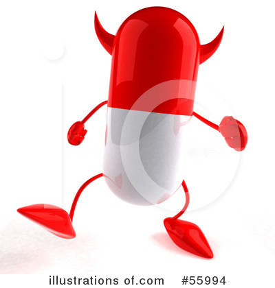 Pill Character Clipart #55994 by Julos