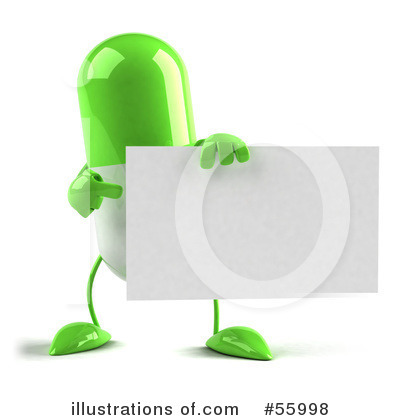 Pill Character Clipart #55998 by Julos