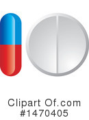 Pill Clipart #1470405 by Lal Perera