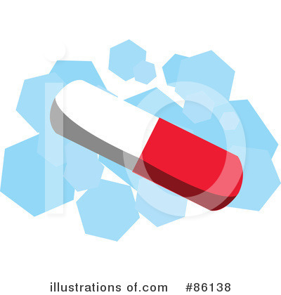 Royalty-Free (RF) Pill Clipart Illustration by mayawizard101 - Stock Sample #86138