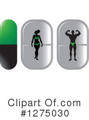 Pills Clipart #1275030 by Lal Perera