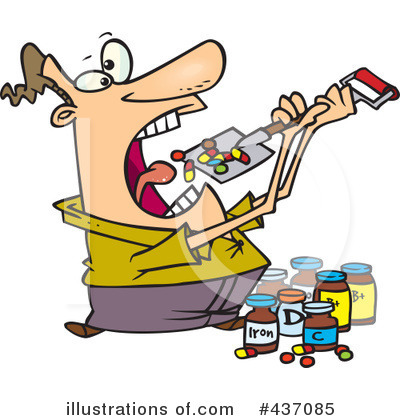 Pills Clipart #437085 by toonaday