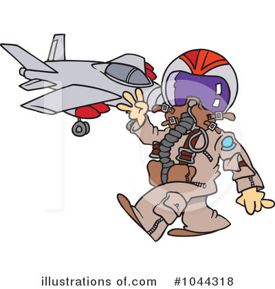 Pilot Clipart #1044318 by toonaday