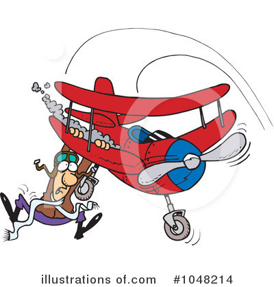 Pilot Clipart #1048214 by toonaday
