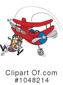 Royalty-Free (RF) Pilot Clipart Illustration #1048214