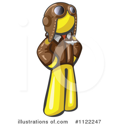 Yellow Design Mascot Clipart #1122247 by Leo Blanchette