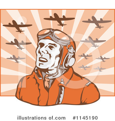 Aviator Clipart #1145190 by patrimonio