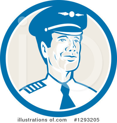 Aviator Clipart #1293205 by patrimonio
