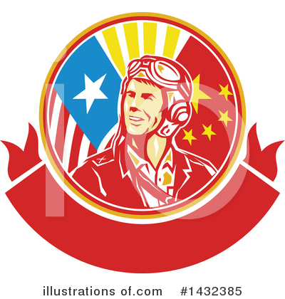 Aviator Clipart #1432385 by patrimonio