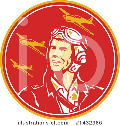 Aviator Clipart #1432386 by patrimonio