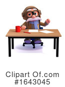 Pilot Clipart #1643045 by Steve Young