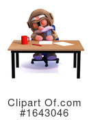 Pilot Clipart #1643046 by Steve Young