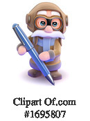 Pilot Clipart #1695807 by Steve Young