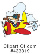 Royalty-Free (RF) Pilot Clipart Illustration #433319