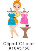 Pin Up Clipart #1045758 by BNP Design Studio