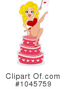 Royalty-Free (RF) pin up Clipart Illustration #1045759