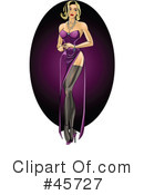 Royalty-Free (RF) Pin Ups Clipart Illustration #45727